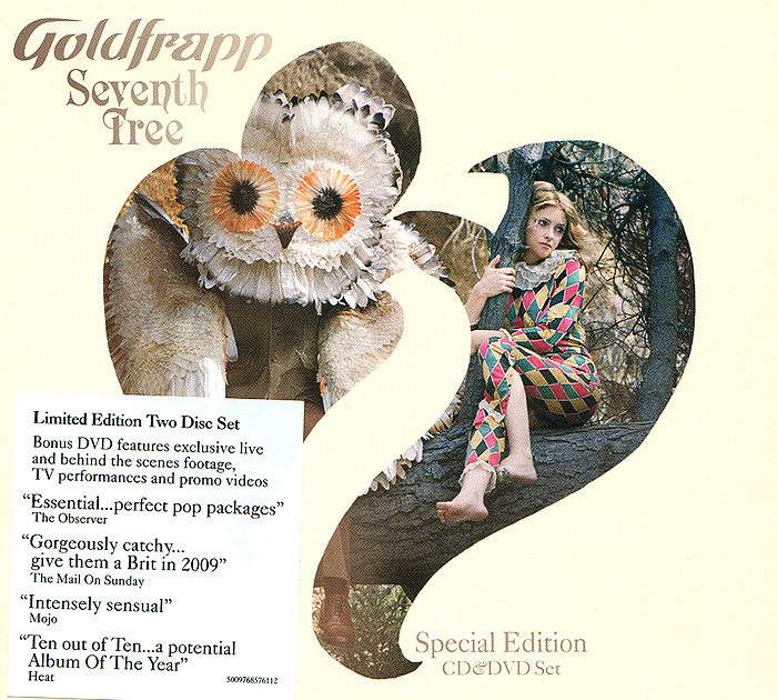 Goldfrapp Goldfrapp. Seventh Tree. Limited Edition (CD + DVD) mary pope osborne magic tree house 2 the knight at dawn full color edition