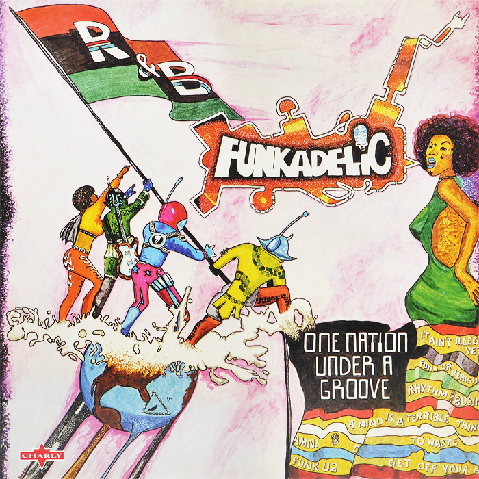 Funkadelic Funkadelic. One Nation Under A Groove (2 LP) 10g 99
