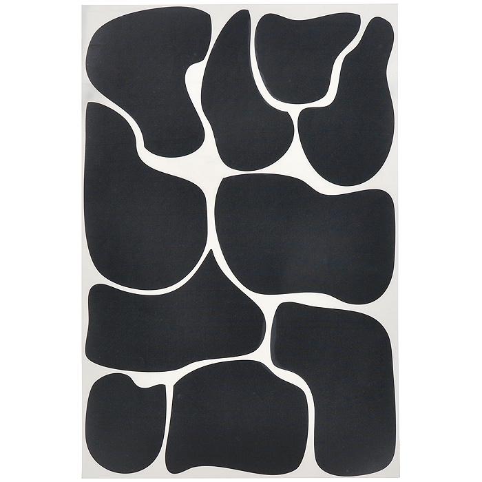 Стикер Paristic Пятна коровы, цвет: черный, 29 х 44 см747049Оригинальный стикер Paristic Пятна коровы выполнен из матового винила - тонкого эластичного материала, который хорошо прилегает к любым гладким и чистым поверхностям, легко моется и держится до семи лет, не оставляя следов. Великолепное исполнение добавит изысканности в дизайн вашего дома. На одном листе расположено 10 стикеров.Сегодня виниловые наклейки пользуются большой популярностью среди декораторов по всему миру, а на российском рынке товаров для декорирования интерьеров являются новинкой.Необыкновенный всплеск эмоций в дизайнерском решении создаст утонченную и изысканную атмосферу не только спальни, гостиной или детской комнаты, но и даже офиса. Характеристики:Материал: винил. Цвет: черный. Размер листа: 29 см х 44 см. Количество стикеров на листе: 10 шт. Размер самого маленького пятна: 7 см х 9 см.Размер самого большого пятна: 16 см х 11 см Комплектация: виниловый стикер; инструкция; Paristic - это стикеры высокого качества.Художественно выполненные стикеры, создающие эффект обмана зрения, даютнеобычную возможность использовать в своем интерьере элементы городского пейзажа.Продукция представлена широким ассортиментом - в зависимости от формы выбранногорисунка и от ваших предпочтений стикеры могут иметь разный размер и разный цвет (12вариантов помимо классического черного и белого). В коллекции Paristic - авторские работы от урбанистических зарисовок и узнаваемыхпарижских мотивов до природных и графических объектов. Идеи французских дизайнеровукрасят любой интерьер: Paristic - это простой и оригинальный способ создатьуникальную атмосферу как в современной гостиной и детской комнате, так и в офисе.В настоящее время производство стикеров Paristic ведется в России при строгомсоблюдении качества продукции и по оригинальному французскому дизайну.