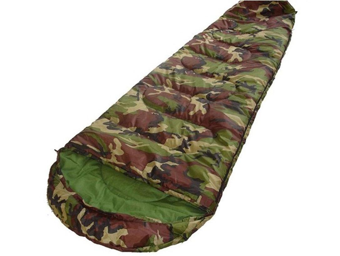 Спальный мешок-кокон Reking, цвет: камуфляж, 190 х 75 см. S-007KOC2028LEDСпальный мешок-кокон Reking - незаменимая вещь для любителей уюта и комфорта во время активного отдыха. Теплый спальный мешок спасет вас от холода во время туристического похода или поездки на рыбалку.Верхний слой мешка-одеяла выполнен из прочного полиэстера. В качестве наполнителя использован поликотон. Спальный мешок закрывается на застежку-молнию. Спальный мешок упакован в удобный компрессионный чехол для переноски.
