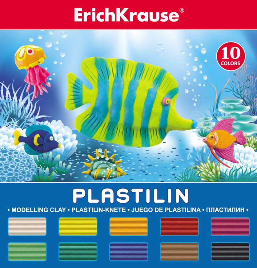 Пластилин Erich Krause, со стеком, 10 цветов, 180 г30652Пластилин Erich Krause невероятно мягкий и пластичный, поэтому легкопринимает требуемую форму. Не липнет к рукам или рабочей поверхности.Кроме того имможно рисовать, из него можно делать мультики, модели накаркасе, а мягким он остается в течение 5 лет. Яркие, насыщенные цветалегко смешиваются для получения новых оттенков. В комплекте пластиковый стек.В комплект входит: 10 цветов пластилина: белый, желтый, оранжевый,красный, малиновый, салатовый, зеленый, коричневый, синий, черный. Характеристики: Вес одного бруска пластилина:18 г. Размер бруска:6 см х 2 см х 1,2 см.