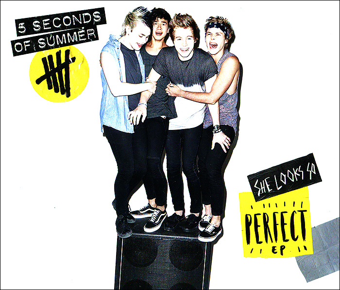 5 Seconds Of Summer.  She Looks So Perfect Capitol Records,ООО