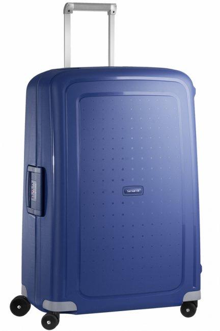 Чемодан Samsonite SCure, 102 л. 10U-01002, темно-синий10U-01002Характеристики: Размер чемодана (без учета ручки и колес) (ДхШхВ): 53 см x 30 см x 73 см. Размер главного отделения чемодана (ДхШхВ): 69 см x 49 см x 16 см. Высота чемодана (с учетом колес): 75 см Высота чемодана (с учетом колес и выдвинутой ручки): 85/90/95/105 см. Диаметр колеса: 5,5 см. Ширина колеса: 4 см.