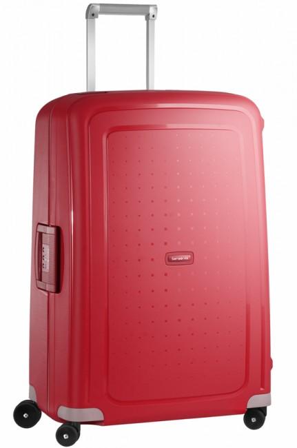 Чемодан Samsonite SCure, 102 л. 10U-10002, красный10U-10002Характеристики: Размер чемодана (без учета ручки и колес) (ДхШхВ): 53 см x 30 см x 73 см. Размер главного отделения чемодана (ДхШхВ): 69 см x 49 см x 16 см. Высота чемодана (с учетом колес): 75 см Высота чемодана (с учетом колес и выдвинутой ручки): 85/90/95/105 см. Диаметр колеса: 5,5 см. Ширина колеса: 4 см. К чемодану прилагается подарок: две пары шлепанцев (мужские и женские).