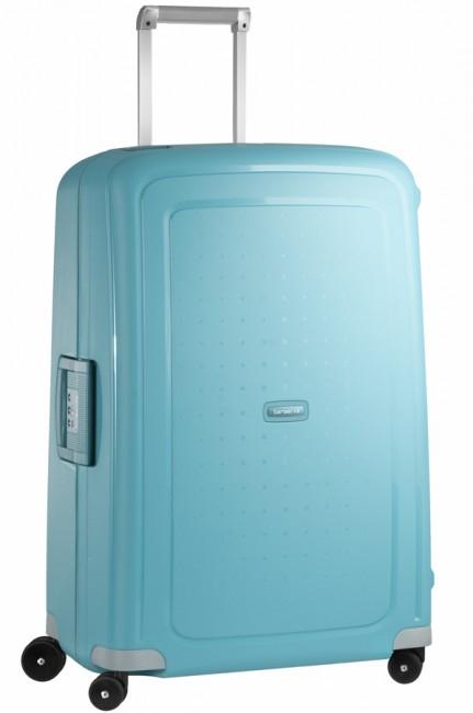 Чемодан Samsonite SCure, 102 л. 10U-11002, бирюзовыйГризлиХарактеристики: Размер чемодана (без учета ручки и колес) (ДхШхВ): 53 см x 30 см x 73 см. Размер главного отделения чемодана (ДхШхВ): 69 см x 49 см x 16 см. Высота чемодана (с учетом колес): 75 см Высота чемодана (с учетом колес и выдвинутой ручки): 85/90/95/105 см. Диаметр колеса: 5,5 см. Ширина колеса: 4 см. К чемодану прилагается подарок: две пары шлепанцев (мужские и женские).
