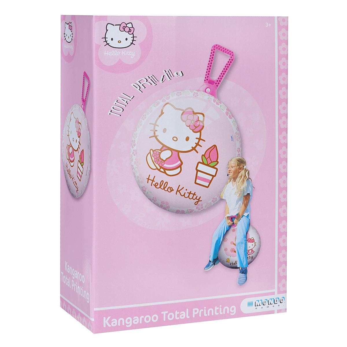 Мяч-попрыгун Mondo Hello Kitty, 50 см. 06/871 мячики mondo мяч hello kitty