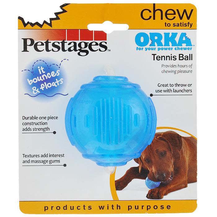 Игрушка для собак Petstages Orka. Теннисный мяч0120710Игрушка для собак Petstages Orka. Теннисный мяч имеет специальную форму, которая способствует тренировке жевательных мышц и массажу десен. Изготовлена из синтетической резины. Этот материал настолько безопасен, что из него делают детские прорезыватели для зубов. Это долговечная игрушка для профилактики заболеваний полости рта. Использование игрушки одобрено ветеринарами. Диаметр мяча: 7 см.