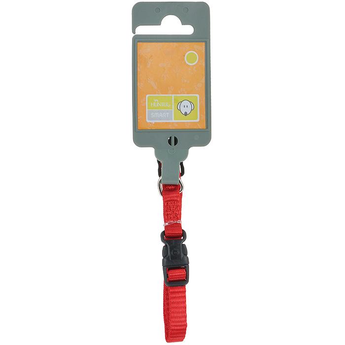 Ошейник для собак Hunter Smart Ecco XS, цвет: красный шлейка для собак hunter ecco sport xs 23 35 25 41 см нейлон лиловый