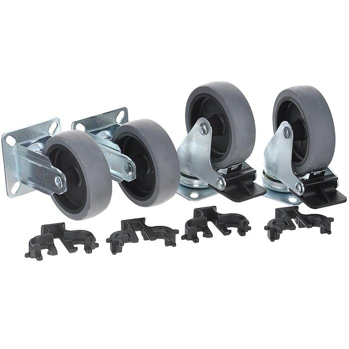 Набор колес для клипперов Marchioro Velox 4-7, 4 шт1064004700905Набор колес для клипперов Marchioro Velox 4-7 предназначен для переносок моделей Clipper размера 4, 5, 6 и 7. Быстро устанавливаются без дополнительного инструмента. 2 колеса имеют фиксирующий тормоз. Колеса вращаются вокруг своей оси. После установки передвигать клиппер, особенно с крупными собаками, станет намного легче.Комплектация: 4 шт.Диаметр колеса: 7,5 см.