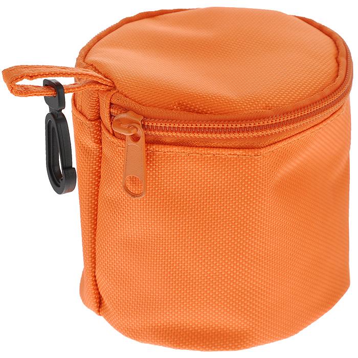Термоконтейнер Iris FrutYog с охлаждающим гелем, цвет: оранжевый. 9680VT-1520(SR)Термоконтейнер Iris FrutYog, выполненный в виде сумочки, содержит между покрытиями специальный охлаждающий гель, благодаря которому внутри поддерживается подходящая температура, и ваши продукты останутся свежими в течение 3 часов. Для активации геля, достаточно положить термоконтейнер в холодильник на 4 часа. Термоконтейнер Iris FrutYog прекрасно подойдет для вашего любимого фрукта или йогурта в баночке, а небольшой пластиковый карабинчик облегчит переноску.Характеристики: Материал: полиэстер, гель, пластик. Диаметр: 10 см. Высота: 10 см.