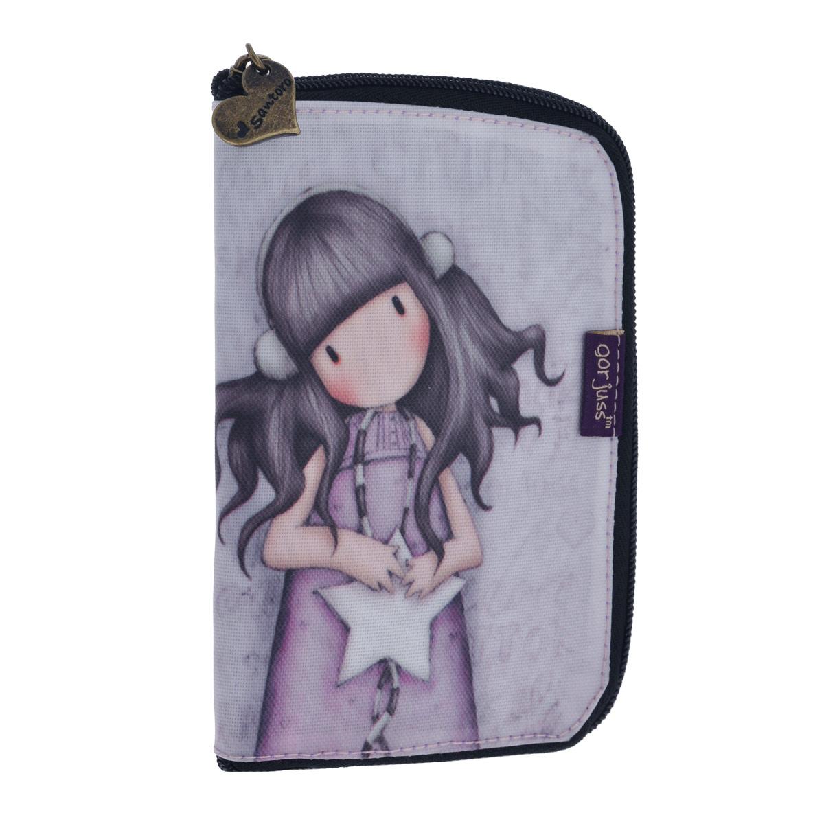 Складывающаяся сумка для покупок All These Words, цвет: сиреневый. 00122113-47660-00504Складывающаяся сумка для покупок с милой девочкой непременно порадует вас или станет прекрасным подарком. Сумка складывается в симпатичный чехольчик на молнии, сама сумка выполнена из текстиля сиреневого цвета с орнаментом и имеет две удобные ручки. Сумка очень удобна в использовании - ее легко раскладывать и складывать. Характеристики:Материалы: текстиль, ПВХ, металл. Размер чехла на молнии: 10,5 см x 16 см x 1,5 см. Размер сумки в разложенном виде: 54 см х35 см х 17 см.