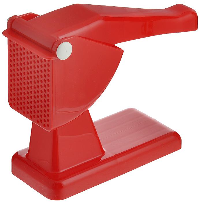 Картофелемялка Rigamonti, цвет: красный115510Картофелемялка Rigamonti, выполненная из высококачественного пластика, станет вашим незаменимым помощником на кухне. Картофелемялка предназначена для получения пюре из любых отварных овощей. Картофелемялка Rigamonti - практичный и необходимый подарок любой хозяйке! Характеристики: Материал: пластик. Размер картофелемялки (Д х Ш х В): 25 см х 9 см х 21,5 см.