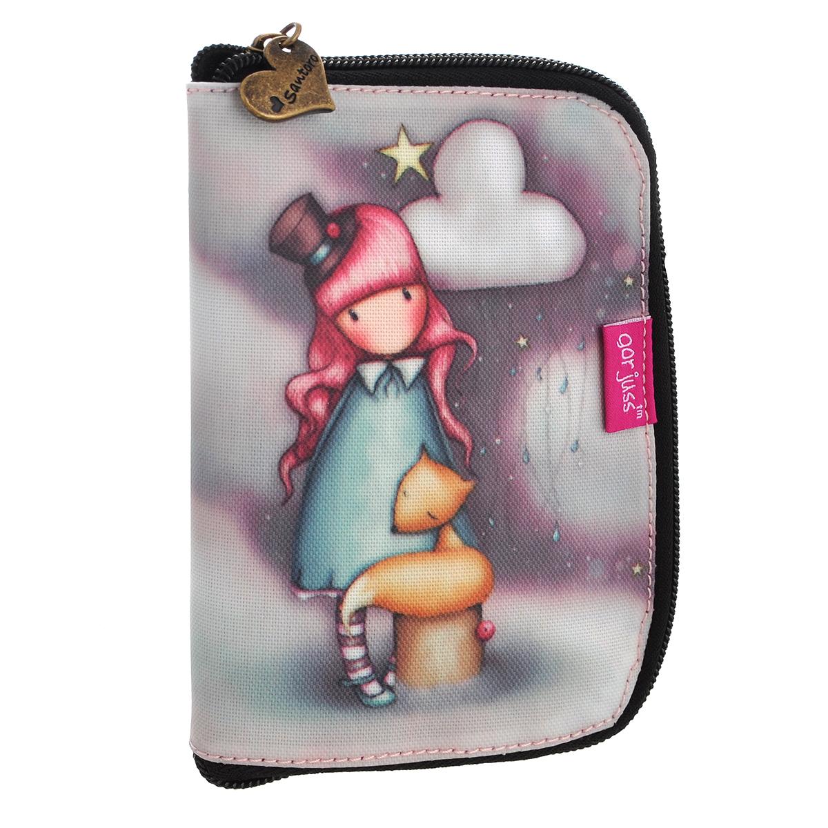 Складывающаяся сумка для покупок The Dreamer, цвет: сиреневый. 0012210967-637T-17s-01-42Складывающаяся сумка для покупок с милой девочкой непременно порадует вас или станет прекрасным подарком. Сумка складывается в симпатичный чехольчик на молнии, сама сумка выполнена из текстиля сиреневого цвета с орнаментом и имеет две удобные ручки. Сумка очень удобна в использовании - ее легко раскладывать и складывать. Характеристики:Материалы: текстиль, ПВХ, металл. Размер чехла на молнии: 10,5 см x 16 см x 1,5 см. Размер сумки в разложенном виде: 54 см х35 см х 17 см.