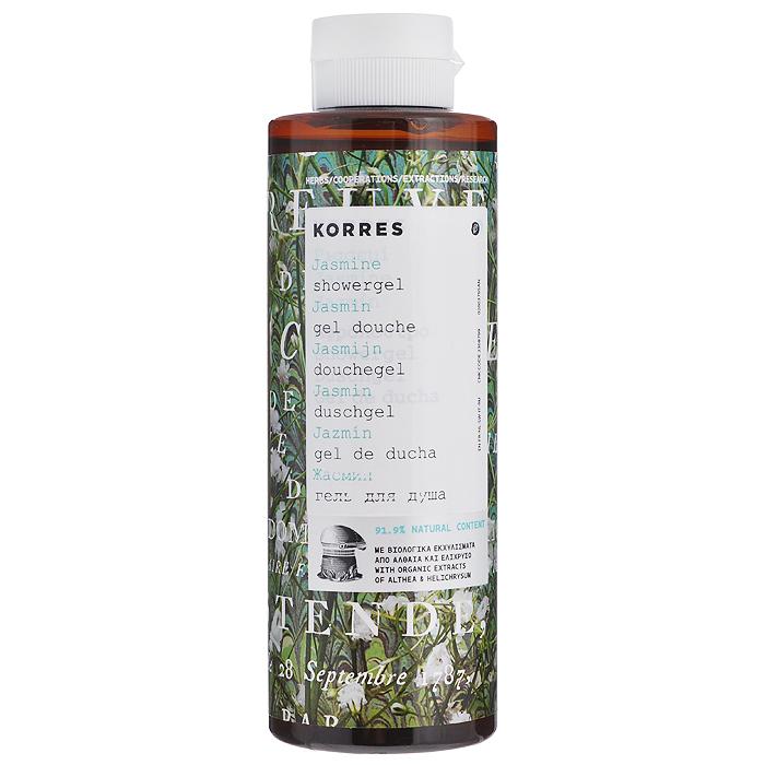 Korres Гель для душа Жасмин, 250 мл3555067891,9% натуральных ингредиентов. Для любого возраста, для всех типов кожи. Можно использовать для детей с 3-х лет. Идеальное средство для ежедневного использования. Превращаясь в кремовую пену, гель обеспечивает интенсивный смягчающий и увлажняющий эффект, сохраняющийся надолго. Протеины пшеницы образуют защитную пленку на поверхности кожи, обеспечивая длительное увлажнение. Гель обладают красивым нежным ароматом жасмина.* Активный экстракт алоэ - увлажнение, антиоксидант, поддерживает кожный иммунитет * Протеины пшеницы - образуют защитную пленку на коже * Протеины овса - образуют защитную пленку на кожеНаносите на влажную кожу при принятии душа или ванны.Уважаемые клиенты!Обращаем ваше внимание на возможные изменения в дизайне упаковки. Качественные характеристики товара остаются неизменными. Поставка осуществляется в зависимости от наличия на складе.