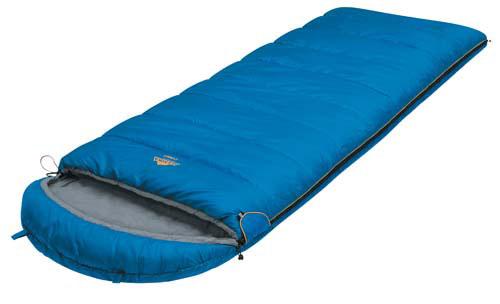 Спальный мешок-одеяло Alexika Comet, цвет: синий, правосторонняя молния. 9261.0105167744Качественное исполнение и доступная цена - вот то, что выгодно выделяет эту модель спальника Alexika Comet среди подобных. Основная особенность спальника с подголовником Comet - небольшой вес, что весьма актуально для тех, кто не любит носить лишние тяжести.Наполнитель спального мешка изготавливается из легкого синтетического материала, теплоизоляционные свойства которого приближаются к характеристикам пуховых одеял. Кроме того, утеплитель в Alexika Comet сформирован так, что холодный воздух не может проникнуть через швы. Треугольный клапан мешка оснащен светоотражающим ярлыком и круглой липучкой.Спальник-одеяло Alexika Comet обеспечит комфортный ночной отдых. Каждая деталь в нем тщательно продумана разработчиками. Так, вы никогда не столкнетесь с тем, что молния спальника плохо застегивается - производители используют лишь качественную проверенную фурнитуру. При необходимости вы сможете соединить вместе несколько мешков - у модели предусмотрена возможность состегивания. Спальник дополнен такими приятными мелочами как внутренний карман, лента от закусывания молнии, люминесцентная петелька на замке молнии, петли для сушки, а его яркий привлекательный цвет будет радовать глаз даже в серый пасмурный день. Особенности:Лента от закусывания молнии.Сетчатый внутренний карман. Люминесцентная петля на замке молнии.Возможность состегивания спальников, имеющих молнии с правой и левой стороны.Петли для сушки. На треугольном клапане круглая липучка и светоотражающий ярлык.Утеплитель сформирован в пакеты, смещенные относительно друг друга на половину ширины пакета, что предотвращает проникновение холодного воздуха через швы.Размер в чехле: 40/30 см x 22 см.Внешняя ткань верх: Polyester 190T.Внешняя ткань низ: Polyester 190T.Внутренняя ткань: Cotton 40S.Утеплитель: APF-Isoterm 3D.