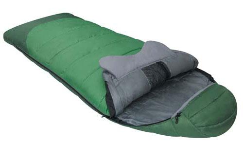 Спальный мешок Alexika Forest, цвет: зеленый, левосторонняя молния. 9230.0101267742Комфортабельный трехсезонный трекинговый спальный мешок Alexika Forester будет идеален для тех, кто любит путешествовать. Прочный и надежный, он обеспечит вам крепкий здоровый сон и комфорт, словно вы и не выходили из собственной спальни.Комфорт сохранится даже при температуре -4°C: это достигается благодаря специальному утеплителю APF-Isoterm 3D, который не пропускает холодный воздух внутрь, т.к. помещен в специальные пакеты, смещенные относительно друг друга. Тепловой воротник плотно облегает шею, и препятствует прохождению холодного воздуха извне, сохраняя тепло внутри. Молния плотно утеплена, а значит, там нет щелей, через которые может проходить ветер. Капюшон анатомической формы удобен для головы и также сохранит тепло.Светящаяся петля на молнии позволит вам с легкостью найти бегунок в ночное время, а внутренние сетчатые карманы припрятать в мешке небольшие вещички, например документы и т.п.Данный туристический спальник легко поддается чистке, благодаря своему синтетическому материалу. Сушка также не составит особых трудностей, благодаря специальным петлям, за которые вы можете подвесить мешок, например на веревке. Особенности:Мягкий валик вдоль оси капюшона. Лента от закусывания молнии. Сетчатый внутренний карман. Внутрення часть капюшона выполнена из Soft Micro Polyester Diamond RipStop. Анатомический капюшон.Тепловой воротник. Люминесцентная петля на замке молнии. Петли для сушки. Утеплитель сформирован в пакеты, смещенные относительно друг друга на половину ширины пакета, что предотвращает проникновение холодного воздуха через швы.Размер в чехле: 46/36 см x 26 см.Сезонность: весна-осень.Внешняя ткань верх - Polyester 190T.Внешняя ткань низ: Polyester 190T Diamond RipStop PU 250 mm H2O.Внутренняя ткань: Polyester 190T.Утеплитель: APF-Isoterm 3D.