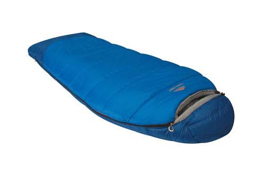 Спальный мешок Alexika Forest Compact, цвет: синий, левосторонняя молния. 9231.01052