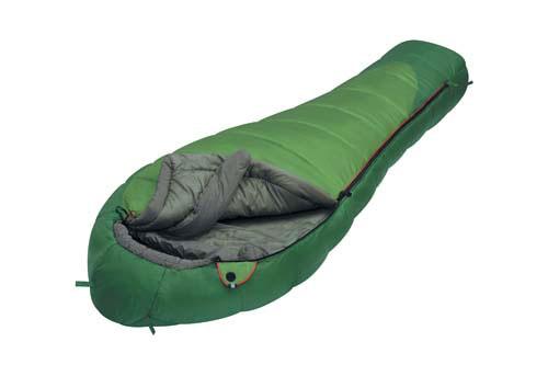 Спальный мешок Alexika  Mountain Wide , цвет: зеленый, правосторонняя молния. 9222.01011 - Спальные мешки