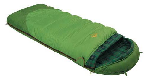 Спальный мешок-одеяло Alexika Siberia Plus, цвет: зеленый, левосторонняя молния. 9252.01012010-01199-23Спальник-одеяло Alexika Siberia Plus предназначен для активных туристов, получающих удовольствие от путешествий с палатками и ночевок в кемпингах. Он рассчитан на использование в летнее время, а также в мае и сентябре - относительно теплых месяцах, когда еще не случается сильных ночных заморозков. Комфортный спальник одеяло Siberia Plus оснащен удобным подголовником, который поддерживает шею спящего во время ночного отдыха. Размер мешка позволяет отлично использовать данную модель даже туристам, отличающимся высоким ростом. Инновационный утеплитель APF-Isoterm 3D не скатывается, а распределяется равномерным слоем по всей поверхности спальника-одеяла.Спальник с подголовником можно моментально трансформировать в теплое одеяло. Для этого достаточно расстегнуть надежный замок-молнию. Отличительная особенность модели Siberia Plus - зеленая внешняя поверхностная ткань, которая практически не пропускает влагу и холод. Внутренняя поверхность оформлена мягкой клетчатой тканью, весьма приятной на ощупь. Особое внимание разработчики уделили подголовнику. Он позволяет туристам спать даже без использования подушки. Для еще большего комфорта в этой зоне спальника-одеяла мягкий утеплитель использован в несколько слоев. Особенности: Отделение под подушку с двумя входами. Лента от закусывания молнии. Люминесцентная петля на замке молнии. Возможность состегивания спальников, имеющих молнии с правой и левой стороны. Петли для сушки. На треугольном клапане круглая липучка и светоотражающий ярлык. Утеплитель сформирован в пакеты, смещенные относительно друг друга на половину ширины пакета, что предотвращает проникновение холодного воздуха через швы.Размер в чехле: 49/30 см x 26 см. Внешняя ткань верх: Polyester 190T. Внешняя ткань низ: Polyester 190T Diamond RipStop PU 250 mm H2O. Внутренняя ткань: Flannel. Утеплитель: APF-Isoterm 3D.