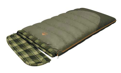 Спальный мешок-одеяло Alexika Siberia Wide Transformer, цвет: серый, правосторонняя молния. 9255.01071KOCAc6009LEDКачественный спальный мешок-трансформер Siberia Wide Transformer от Alexika - идеальный вариант для ночевки в кемпинге. Он наилучшим образом подойдет для отдыха, как весной, так и осенью. Спальник легко превращается в полноценное двуспальное одеяло, а также имеет отстегивающийся капюшон. Спальный мешок сделан из качественного материала с двухслойным силиконовым наполнителем, который прекрасно удерживает тепло и сохраняет форму после стирки. Наполнитель отличается повышенной устойчивостью к впитыванию запахов и влаги, а также нетоксичностью и негорючестью. Внутри мешок отделан приятной телу фланелевой подкладкой. Сохранить тепло в холодные ночи помогает и ватный валик, которым оторочен мешок по периметру. Он служит защитой от ветра и холодного воздуха, поступающего через молнию.Спальник Siberia Wide Transformer застегивается на крепкую молнию с замком и люминесцентным бегунком, который позволяет легко находить мешок в темноте. С помощью молний по бокам к мешку можно пристегнуть другой спальник, что дает возможность увеличить площадь одеяла. Вдоль молнии имеется лента, предотвращающая заедание замка. Для хранения личных вещей внутри спальника предусмотрен сетчатый карман. Модель имеет петли для просушки мешка. Особенности: Отстегивающийся капюшон Отделение под подушку с двумя входами. Лента от закусывания молнии. Сетчатый внутренний карман. Люминесцентная петля на замке молнии. Возможность состегивания спальников, имеющих молнии с правой и левой стороны. Петли для сушки. На треугольном клапане круглая липучка и светоотражающий ярлык. Утеплитель сформирован в пакеты, смещённые относительно друг друга на половину ширины пакета, что предотвращает проникновение холодного воздуха через швы.Размер в чехле: 47/37 x 27 см. Внешняя ткань верх: Polyester 190T.Внешняя ткань низ: Polyester 190T Diamond RipStop PU 250 mm H2O. Внутренняя ткань: Flannel. Утеплитель: APF-