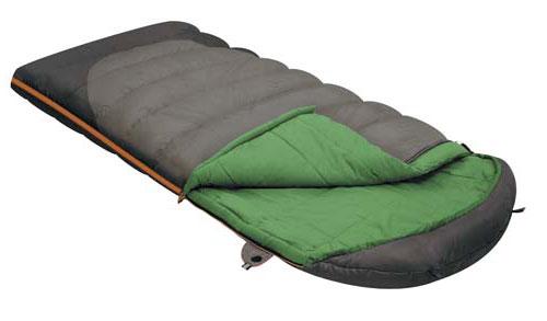 Спальный мешок-одеяло Alexika Summer Wide Plus, цвет: серый, левосторонняя молния. 9259.010729259.01072Summer Wide Plus - это идеальный спальный мешок-одеяло увеличенной ширины с синтетическим наполнителем для отдыха на природе в летнее время года. Любители путешествий и кемпинга по достоинству оценят все преимущества этого мешка, среди которых небольшой вес, быстрое время высыхания и легкое восстановление формы. Спальный мешок Summer Plus изготовлен в классическом стиле и представляет собой спальник-одеяло плюс подголовник. В подголовнике с легкостью можно разместить подушку или свои вещи. Для этого в нем имеются два входа. Специальный утеплитель APF-Isoterm защищает вас от проникновения холодного воздуха, поэтому в спальнике всегда сохраняется оптимальная температура.Специальная лента вдоль молнии не дает ей застопориться, даже если вы многократно застегиваете-расстегиваете мешок. Сетчатый внутренний карман спальника служит дополнительным отделением, где можно хранить часто необходимые вещи. На замке расположена люминесцентная петля для удобства использования в темное время суток. Существует возможность состегивания спальников - при желании вы можете сделать одно одеяло большого размера. У модели имеются дополнительные петли, благодаря которым мешок можно подвесить и быстро просушить. Особенности: Отделение под подушку с двумя входами.Лента от закусывания молнии.Сетчатый внутренний карман.Люминесцентная петля на замке молнии.Возможность состегивания спальников, имеющих молнии с правой и левой стороны.Петли для сушки.На треугольном клапане круглая липучка и светоотражающий ярлык.Утеплитель сформирован в пакеты, смещённые относительно друг друга на половину ширины пакета, что предотвращает проникновение холодного воздуха через швы.Размер в чехле: 48/38 см x 25 см.Внешняя ткань верх: Polyester 190T.Внешняя ткань низ: Polyester 190T Diamond RipStop PU 250 mm H2O.Внутренняя ткань: Cotton 40S.Утеплитель: APF-Isoterm 3D.