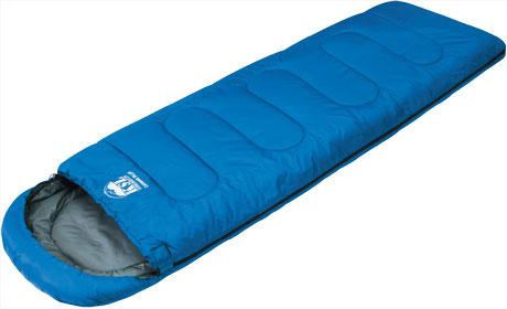 Спальный мешок KSL Camping Plus 6252.0105, цвет: синий, правосторонняя молния67742Классический кемпинговый спальный мешок-одеяло с подголовником-капюшоном для летнего сезона. Вес: 1,5 кг. Т комфорта 6°C. Т предела комфорта 3°C. T экстрима -12°C. Размер: (185+35) x 80 см. Размер в чехле: 42 x 21 см. Сезонность: лето. Внешняя ткань верх: Polyester 190T. Внешняя ткань низ: Polyester 190T. Внутренняя ткань: Polycotton. Утеплитель: APF-Isoterm 3D. Область применения: кемпинг. Цвет: синий. Материал: Polyester 190T, polycotton.