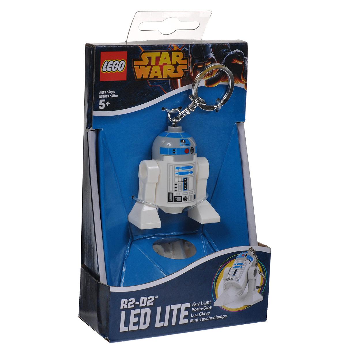 Брелок-фонарик для ключей Lego Звездные Войны брелок фонарик для ключей lego звездные войны штормтрупер