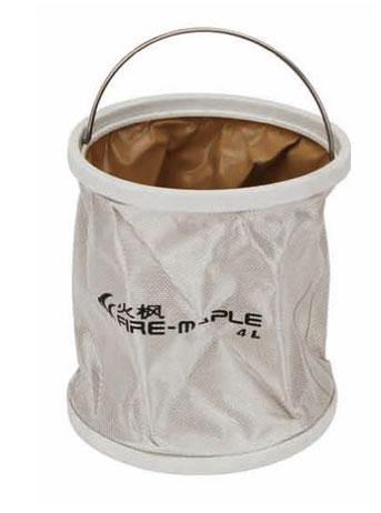 Ведро складное Fire-Maple, с чехлом, 9 лВетерок 2ГФСкладное ведро Fire-Maple изготовлено из прочного водонепроницаемого материала оксфорд с герметичными швами. Оно не займет много места в сложенном состоянии и идеально подойдет не только в походе, но и при решении множества хозяйственных задач. Такое ведро идеально для кемпинга, охоты, рыбалки, отдыха на воде, садоводства, мытья машины и много другого. В комплект входит удобный чехол с петелькой на пластиковой застежке-молнии.