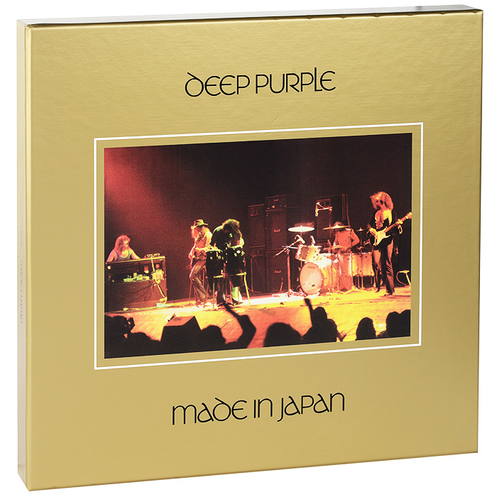 Deep Purple Deep Purple. Made In Japan (4 CD + DVD + LP) deep purple deep purple infinite 2 lp 3 х 10 cd dvd