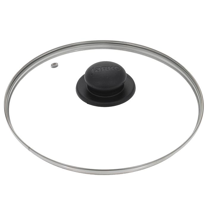 Крышка стеклянная Jarko. Диаметр 24 см54 009303Крышка Jarko, изготовленная из термостойкого стекла, позволяет контролировать процесс приготовления без потери тепла. Ободок из нержавеющей стали предотвращает сколы на стекле. Крышка оснащена отверстием для паровыпуска. Ненагревающаяся ручка выполнена из бакелита. Характеристики:Материал: стекло, нержавеющая сталь, бакелит. Диаметр крышки: 24 см.