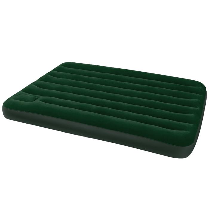 Матрас надувной Intex, флокированный, цвет: зеленый, 191 х 137 х 22 см. 66928перфорационные unisexНадувной матрас Intex удобен и прост в использовании, он позволит вам провести весело время на пляже или без труда организовать дополнительное спальное место. Изготовлен из высококачественного водонепроницаемого винила. Верхняя часть кровати имеет флокированное покрытие, по своим характеристикам напоминающее велюр, мягкое и приятное на ощупь. Для надувания матраса имеется встроенный ножной насос. Оснащен клапанами 2 в одном, позволяющими быстро спустить или накачать воздух используя электрический или ручной насос. Гарантия производителя: 30 дней.