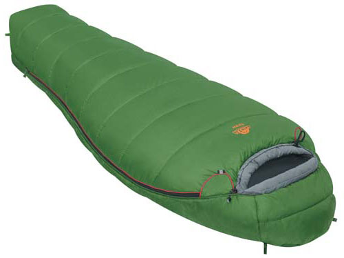 Спальный мешок Alexika West, цвет: зеленый, левосторонняя молния. 9229.01012010-01199-23Спальный мешок Alexika West представляет собой облегченный вариант туристического спальника, рассчитанный для использования при средних температурах. Обладая неплохой вместительностью, мешок весит всего 1,5 кг, а в чехле спальник занимает не более 13 см в длину, и очень удобен в переноске. Внутри спальника есть сетчатый карман, в который можно положить какую-нибудь необходимую мелочь, или документы. Одним из плюсов данной модели спальника является анатомический капюшон, который идеально охватывает голову, а также специальный тепловой воротник на шнурке, который не даст замерзнуть в стужу. Приятной мелочью, и также плюсом данного спального мешка является люминесцентная молния, которая светиться в темноте и которую вы не потеряете, к тому же, снабженной особой лентой, защищающей от закусывания ткани. А два бегунка позволят в жару открыть молнию у ног, для лучшей вентиляции. Спальник Alexika West легко поддается стирке и легко сушиться, благодаря специальным петлям, за которые вы можете подвесить его, не повредив наружную ткань. Особенности:Мягкий валик вдоль окна капюшона.Лента от закусывания молнии.Сетчатый внутренний карман.Анатомический капюшон.Люминесцентная петля на замке молнии.Возможность состегивания спальников, имеющих молнии с правой и левой стороны.Петли для сушки.На треугольном клапане круглая липучка и светоотражающий ярлык.Утеплитель сформирован в пакеты, смещенные относительно друг друга на половину ширины пакета, что предотвращает проникновение холодного воздуха через швы.Размер в чехле: 40/30 см x 22 см. Сезонность: весна-осень. Внешняя ткань верх: Polyester 190T. Внешняя ткань низ: Polyester 190T. Внутренняя ткань: Polyester 190T. Утеплитель: APF-Isoterm 3D.