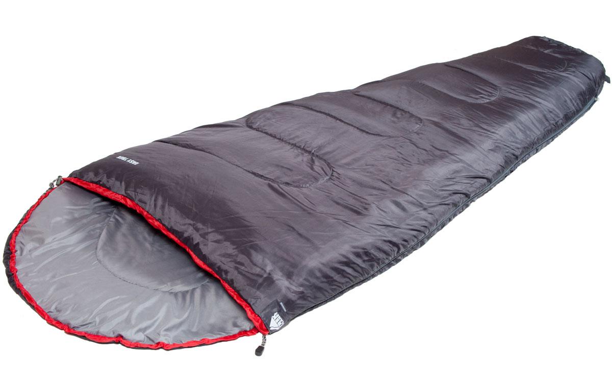 Спальный мешок TREK PLANET Easy Trek, правая молния, цвет: антрацит, красный010-01199-23Комфортный, легкий и удобный спальник-кокон TREK PLANET Easy Trek - отлично подойдет для любителей уюта и комфорта во время летнего активного отдыха. Этот спальник пригодится вам во время поездки на пикник, на дачу, во время туристического похода или поездки на рыбалку.ОСОБЕННОСТИ СПАЛЬНИКА:- Удобный плоский капюшон.- Двухсторонняя молния.- Термоклапан вдоль молнии.- Внутренний карман.- Небольшой вес.- Состегивание двух спальников модели невозможно. К спальнику прилагается чехол для удобного хранения и переноски. Характеристики: Цвет: антрацит, красный.Температура комфорта: +16°C.Температура лимит комфорта: +9°C.Температура экстрима: -1°C.Внешний материал: 100% полиэстер.Внутренний материал: 100% полиэстер.Утеплитель: Hollow Fiber 1x150 г/м2.Размер: 220 см х 80 (50) см.Размер в чехле: 18 см х 18 см х 36 см.Вес: 0,9 кг.Производитель: Китай.Артикул: 70310.