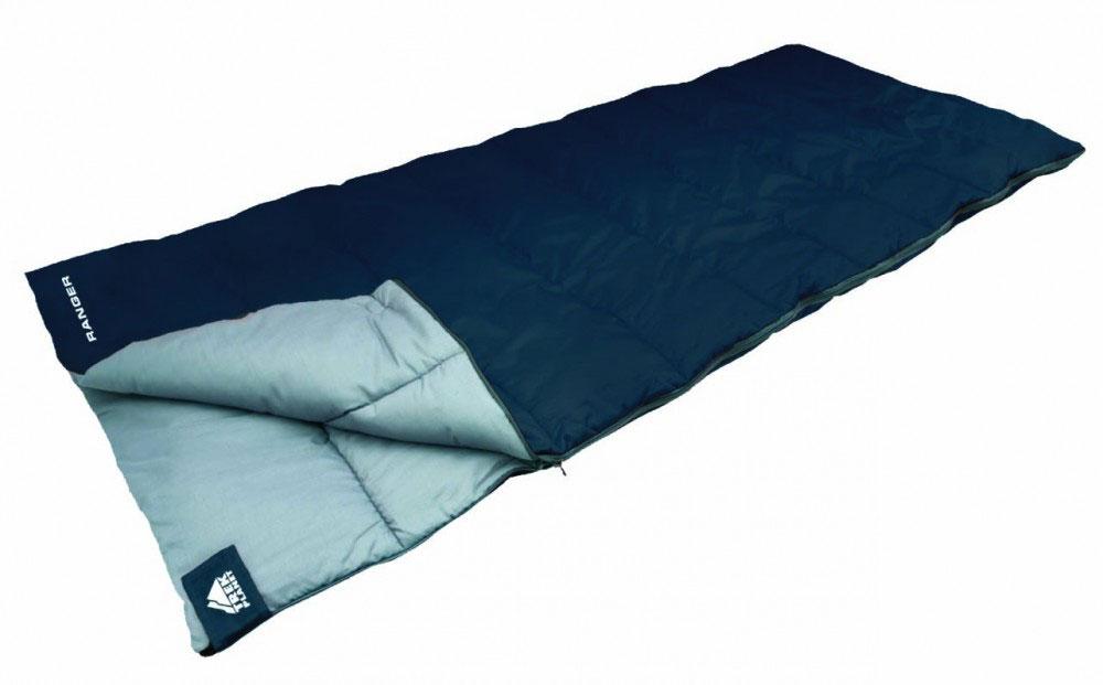 Спальный мешок TREK PLANET Ranger, правосторонняя молния, цвет: синий1301210Комфортный, легкий и очень удобный в использовании, спальник-одеяло TREK PLANET Ranger предназначен для походов преимущественно в летний период. Этот спальник пригодится вам во время поездки на пикник, на дачу, во время туристического похода или поездки на рыбалку. К его несомненным достоинствам можно отнести то, что в остальное время его можно использовать как одеяло для гостей.ОСОБЕННОСТИ СПАЛЬНИКА:- Двухсторонняя молния.- Термоклапан вдоль молнии.- Внутренний карман.- Небольшой вес.- Состегивание двух спальников модели невозможно. К спальнику прилагается чехол для удобного хранения и переноски. Характеристики: Цвет: синий.Температура комфорта: +14°C.Температура лимит комфорта: +11°C.Температура экстрима: 0°C.Внешний материал: 100% полиэстер .Внутренний материал: 100% полиэстер.Утеплитель: Hollow Fiber 1x200 г/м2.Размер: 190 см х 80 см.Размер в чехле: 20 см х 20 см х 38 см.Вес: 1,3 кг.Производитель: Китай.Артикул: 70351.