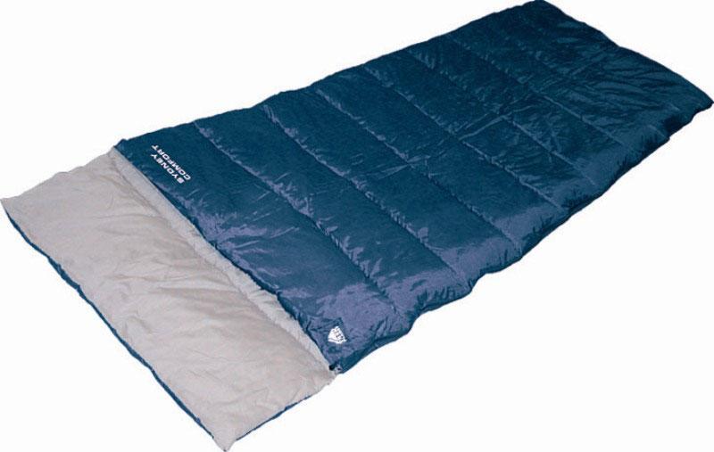Спальный мешок TREK PLANET Sydney Comfort, цвет: синий, правосторонняя молнияSPIRIT ED 1050Комфортный и очень удобный в использовании спальник-одеяло c подголовником TREK PLANET Sydney Comfortпредназначен для походов преимущественно в летний период. Этот спальник пригодится вам во время поездки на пикник, на дачу, во время туристического похода или поездки на рыбалку. К его несомненным достоинствам можно отнести то, что в остальное время его можно использовать как одеяло для гостей.ОСОБЕННОСТИ СПАЛЬНИКА:- Двухсторонняя молния.- Подголовник.- Термоклапан вдоль молнии.- Внутренний карман.- Небольшой вес.- Состегивание двух спальников модели невозможно. К спальнику прилагается чехол для удобного хранения и переноски. Характеристики: Цвет: синий.Температура комфорта: +10°C.Температура лимит комфорта: +6°C.Температура экстрима: -5°C.Внешний материал: 100% полиэстер.Внутренний материал: 100% полиэстер.Утеплитель: Hollow Fiber 1x300 г/м2.Размер: (200+30) см х 80 см.Размер в чехле: 25 см х 25 см х 38 см.Вес: 1,6 кг. Молния: правостороняя.Производитель: Китай.Артикул: 70380.
