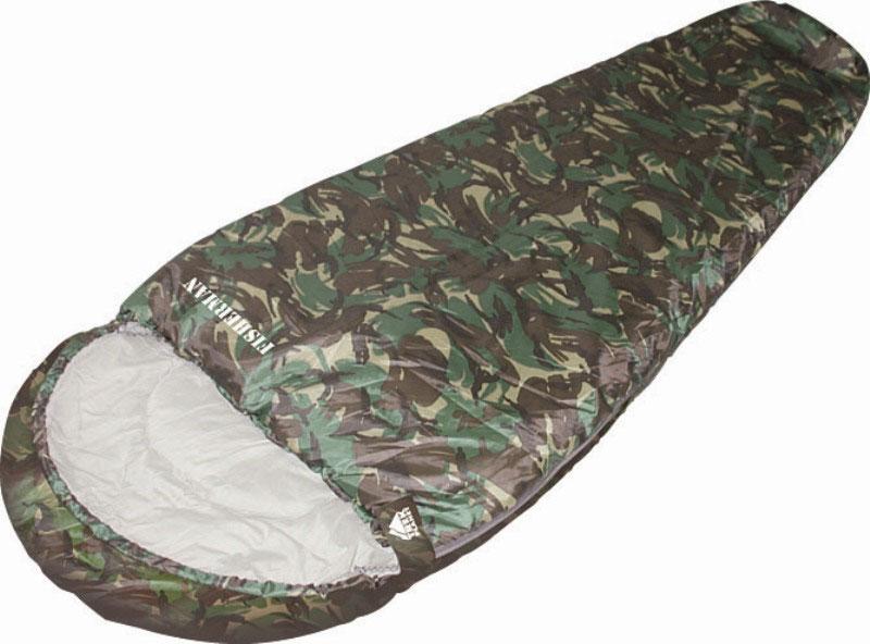 Спальный мешок TREK PLANET Fisherman, цвет: камуфляж, правосторонняя молния67744Комфортный, просторный, теплый и удобный спальник-кокон TREK PLANET Fisherman в камуфляжном исполнении предназначен для летне-осенних поездок на природу. Идеально подойдет для людей, любящих походы, рыбалку, охоту или просто качественные камуфляжные вещи в цветах британского DPM.Особенности:Спальник-кокон в камуфляжном исполнении,Удобный глубокий капюшон,Затягивающаяся шнуровка по краю капюшона,Молния с правой стороны,Молния имеет два замка с обеих сторон,Тепловой ворот,Термоклапан вдоль молнии,Внутренний карман,Небольшой вес,К спальнику прилагается чехол для удобного хранения и переноски.