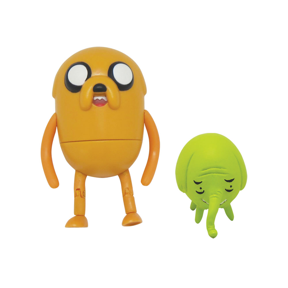 "Фигурки Adventure Time ""Jake & Tree Trunks"", 2 шт, Jazwares, Inc."