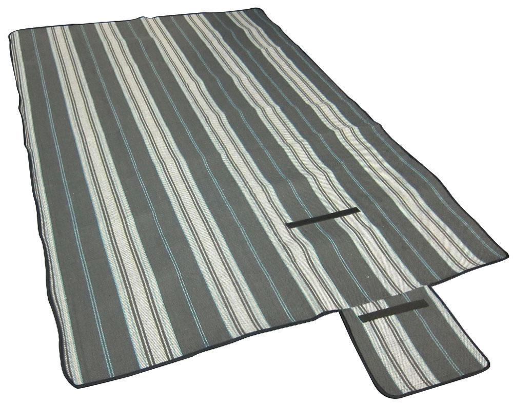 Коврик для пикника TREK PLANET Picnic Mat, цвет: серый70403Удобный и компактный коврик для пикника TREK PLANET Picnic Mat:- размер 135 х 170 см;- ткань внешняя: 100% непромокаемая подложка ПВХ, износостойкие материалы;- ткань внутренняя:полиэстер;- вес: 0,9 кг. Вы можете использовать его для организации стола или просто удобно расположиться на нем для отдыха. Коврик удобен в переноске и занимает мало места. Характеристики: Материал внешний: 100% непромокаемый ПВХ.Материал внутренний: 100% полиэстер.Размер упаковки (ДхШхВ), см: 40 х 20 х 15.