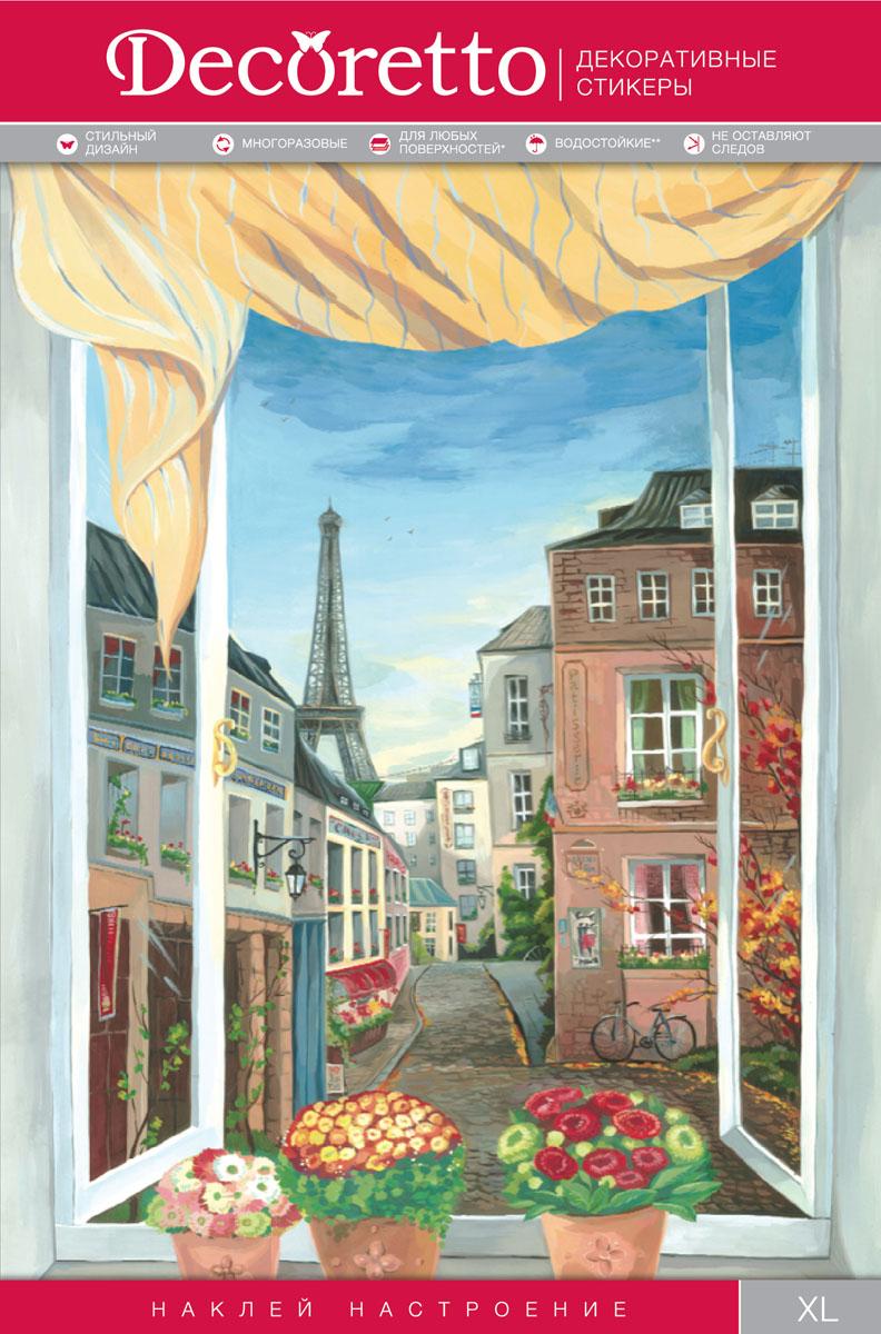 Украшение для стен и предметов интерьера Decoretto Окно в Париж300158_зеленый, желтыйУкрашение для стен и предметов интерьера Decoretto Окно в Париж - это удивительно простой и быстрый способ оживить интерьер помещения. Интерьерные наклейки дадут вам вдохновение, которое изменит вашу жизнь и поможет погрузиться в мир ярких красок, фантазий и творчества. Украшение состоит из одного самоклеющегося элемента. Преимущества украшений Decoretto: - изготовлены из экологически безопасной самоклеющейся виниловой пленки с водоотталкивающей поверхностью, абсолютно безопасны для здоровья детей; - быстро и легко наклеиваются на любые ровные поверхности: стены, окна, двери, кафельную плитку, виниловые и флизелиновые обои, стекла, мебель; - при необходимости удобно снимаются, не оставляют следов и не повреждают поверхность (кроме бумажных обоев); - многоразовые - если вы решите изменить композицию, то просто снимите наклейки и наклейте их в другом месте; - специальный слой защищает поверхность от влаги и выгорания.Decoretto поможет изменить интерьер вокруг себя: в детской комнате и гостиной, на кухне и в прихожей, витрину кафе и магазина, детский садик и офис.