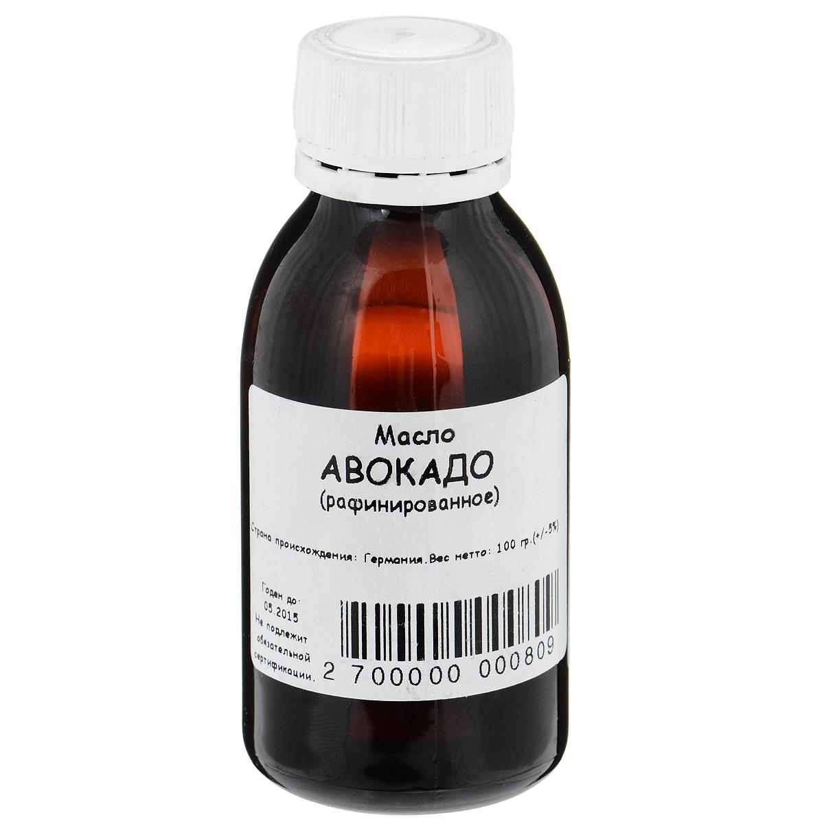 Масло Авокадо, рафинированное, 100 грFS-00897Масло авокадо восстанавливает защитные функции эпидермиса благодаря высокой концентрации полиненасыщенных жирных кислот. Витамины А и Е придадут мылу антиоксидантные свойства. Оказывает увлажняющее, регенерирующее, защитное действие для кожи и волос, плюс противовоспалительное и омолаживающее действие.Рекомендуется использовать для ухода за сухой кожей. Для быстрого восстановления целостности и однородности кожи при небольших воспалениях; для ухода за волосами, особенно окрашенными; для укрепления и роста ногтей и устранения воспаления ногтевого валика.Для питания и массажа втирать в кожу легкими движениями.Для очищения кожи лица нанести на смоченный водой тампон насколько капель масла и протереть кожу.Для ухода за волосами с целью устранения ломкости и придания им естественного блеска втирать в кожу головы за 2 часа до мытья волос.Для снятия воспаления и раздражения кожи смешать 5 мл масла с 1-2 каплями эфирного масла апельсина, жасмина, иланг-иланга или лаванды. Втирать смесь в кожу массажными движениями. Товар может быть использован в качестве добавки при создании мыла в домашних условиях.