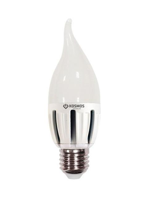 Светодиодная лампа Kosmos Premium, теплый свет, цоколь Е27, 5W. KLED5wCW230vE2727C0031140Использование светодиодов от мирового лидера SAMSUNG и предоставление 2 лет гарантии – залог надежной и стабильной работы лампы. Теплый оттенок света лампы по цветовой температуре соответствует обычной лампе накаливания и позволит создать уют в спальнях и местах отдыха.