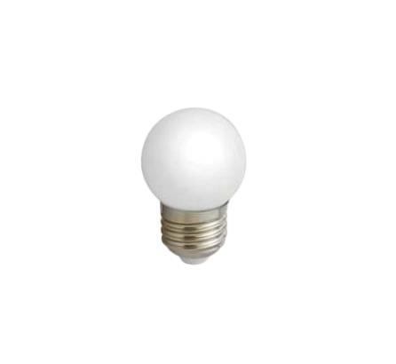 Лампа светодиодная Estares Шарик, холодный белый свет, цоколь Е27, 3WC0027378Светодиодная лампа Estares Шарик инновационный и экологичный продукт, специально разработанный для эффективной замены любых видов галогенных или обыкновенных ламп накаливания во всех типах осветительных приборов. Имеет встроенный полноценный блок питания, что значительно увеличивает срок службы лампы. Не имеет вредных излучений UF и IR.Материал:металл, пластик.Диаметр: 4 см.Общая длина:6,2 см.Угол рассеивания:240°.Средний срок службы:50000 часов.Напряжение:110-265 В.