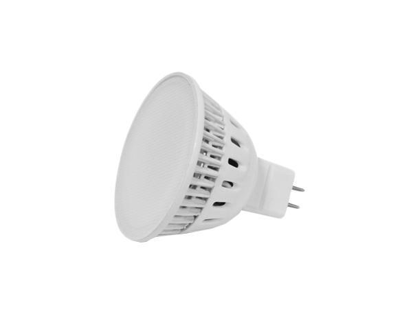 Лампа светодиодная Estares MR16, теплый белый свет, цоколь GU5.3, 5W 220WC0044701Светодиодная лампа Estares Свеча инновационный и экологичный продукт, специально разработанный для эффективной замены любых видов галогенных или обыкновенных ламп накаливания во всех типах осветительных приборов. Не имеет вредных излучений UF и IR