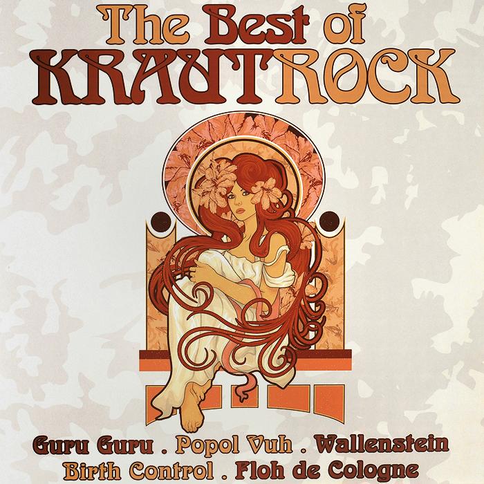 Guru Guru,Birth Control,Broselmaschine,Попол Ву,Mythos,Wallenstein,Holderlin,Ihre Kinder The Best Of Krautrock (2 LP) куртка guru