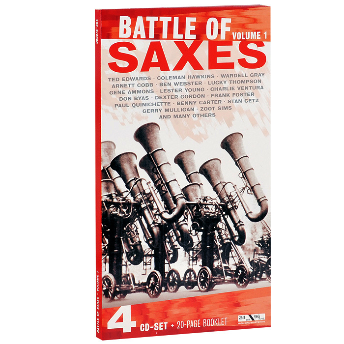 Battle Of Saxes. Volume 1 (4 CD)