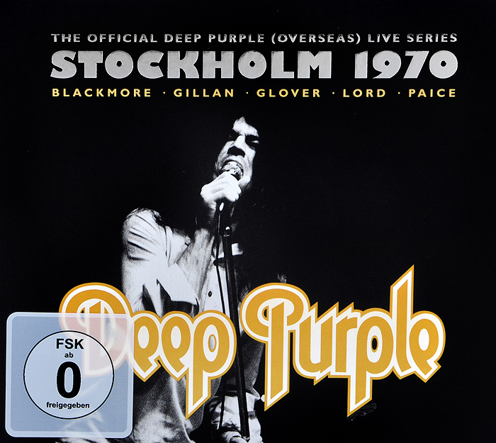 Deep Purple Deep Purple. Live In Stockholm 1970 (2 CD + DVD) deep purple german explosion cd в интернет магазине