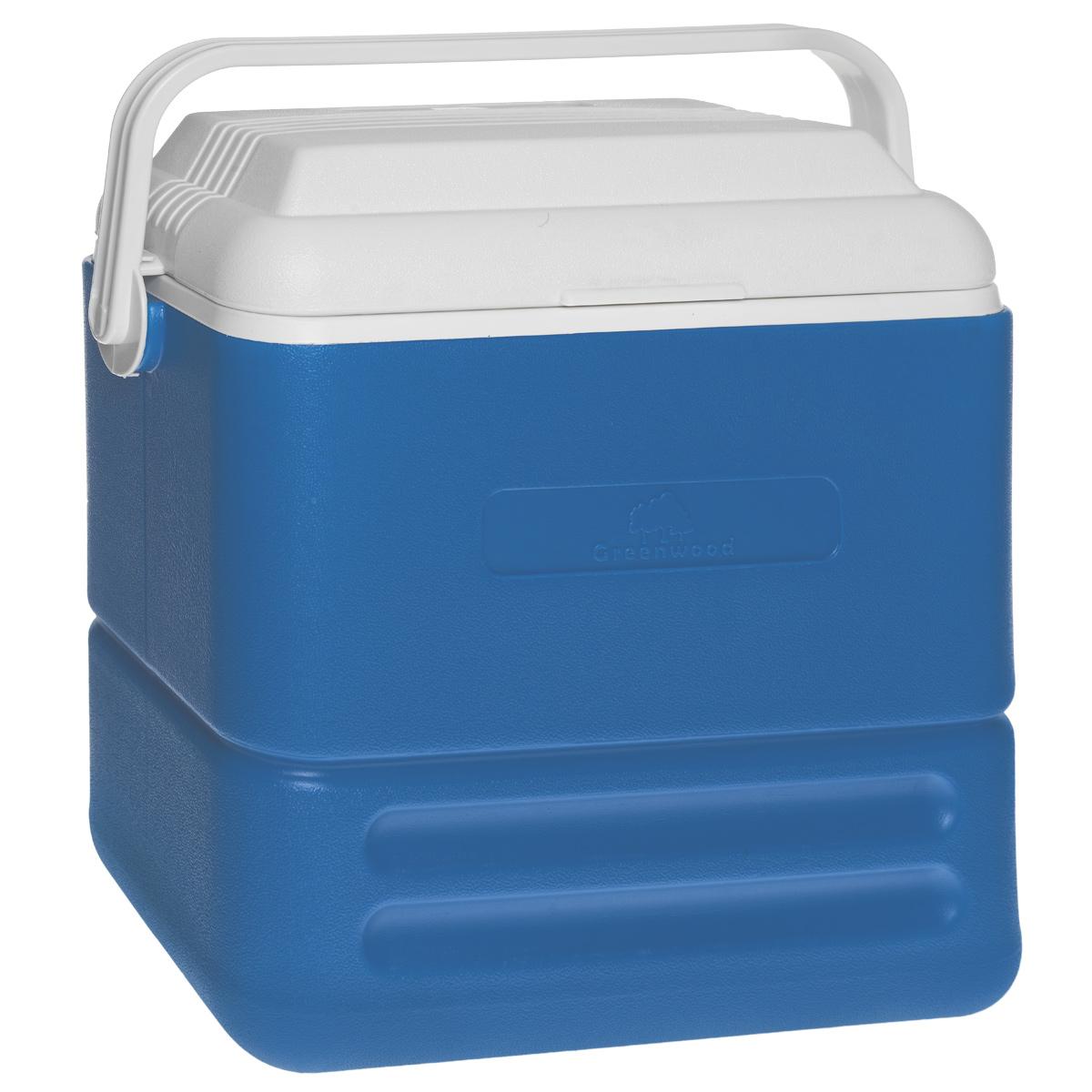 Изотермический контейнер Greenwood HS713, 16 л, 38 см х 23 см х 37,5 смУТ-00002425Изотермический контейнер Greenwood изготовлен из высококачественного полистирола и предназначен для сохранения определенной температуры продуктов во время длительных поездок. Между двойными стенками находится термоизоляционный слой, который обеспечивает сохранение продуктов горячими или холодными на 12 часов. Подходит для хранения сухого льда. Подвижная ручка фиксирует крышку и делает более удобной переноску контейнера.