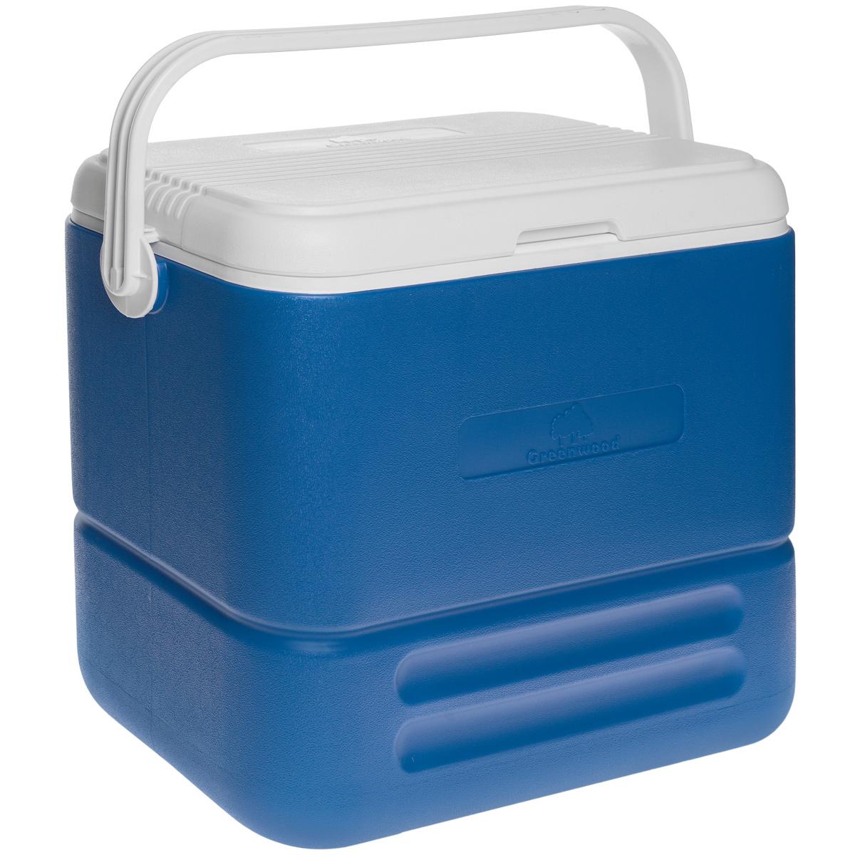 Изотермический контейнер Greenwood HS712E, 36 л, 49 см х 28,5 см х 40,5 см67743Изотермический контейнер Greenwood изготовлен из высококачественного полистирола и предназначен для сохранения определенной температуры продуктов во время длительных поездок. Между двойными стенками находится термоизоляционный слой, который обеспечивает сохранение продуктов горячими или холодными на 12 часов. Подвижная ручка фиксирует крышку и делает более удобной переноску контейнера.