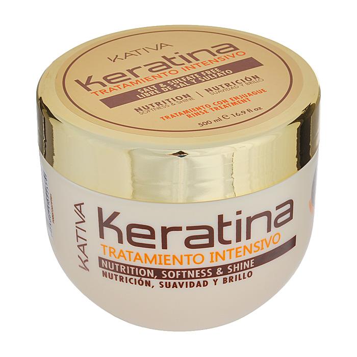 Kativa Интенсивно восстанавливающий уход с кератином для поврежденных и хрупких волос KERATINA, 500 млFS-00897Восстанавливающее средство для поврежденных и ломких волос великолепно смягчает и разглаживает материю волос. Регулярное использование маски укрепит структуру волос, подарит им здоровый блеск, гладкость и непревзойденное сияние.Глубокое действие маски, которая восстанавливает природные свойства ваших волос. Способ применения: нанести на чистые влажные волосы по всей длине. Оставить на 10-15 минут для глубокого воздействия, а затем тщательно смыть.