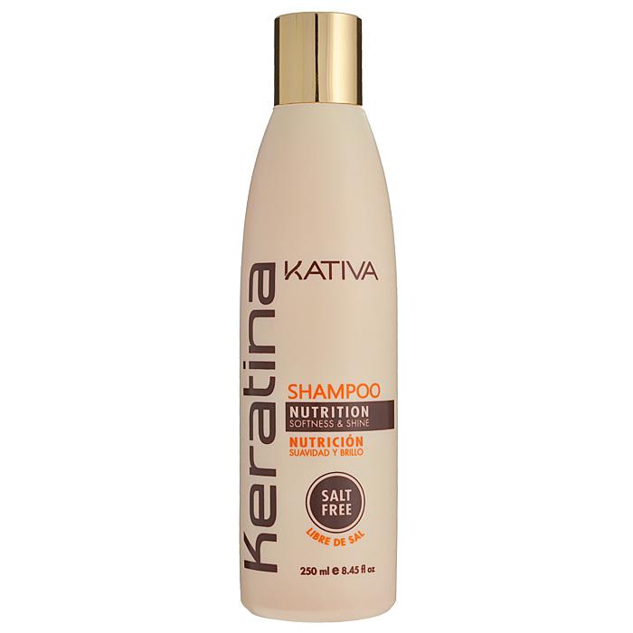 Kativa Укрепляющий шампунь с кератином для всех типов волоc KERATINA, 250 млFS-00897Роскошный шампунь, богатый кератином, обеспечивает надежную защиту и восстановление окрашенных волос, а также волос, поврежденных механическими или температурными воздействиями. Защищает волосы, предотвращает их ломкость. Шампунь обогащен аргановым маслом и кератином. Увлажняет волосы, оставляет их блестящими и гладкими. Защищает волосы и предотвращает их сухость. Способствует выпрямлению. Укрепляет и восстанавливает волосы после химических воздействий. Не содержит сульфата.Способ применения: равномерно нанесите на влажные волосы, вспеньте и сделайте легкий массаж. Тщательно смойте. При необходимости повторите процедуру.